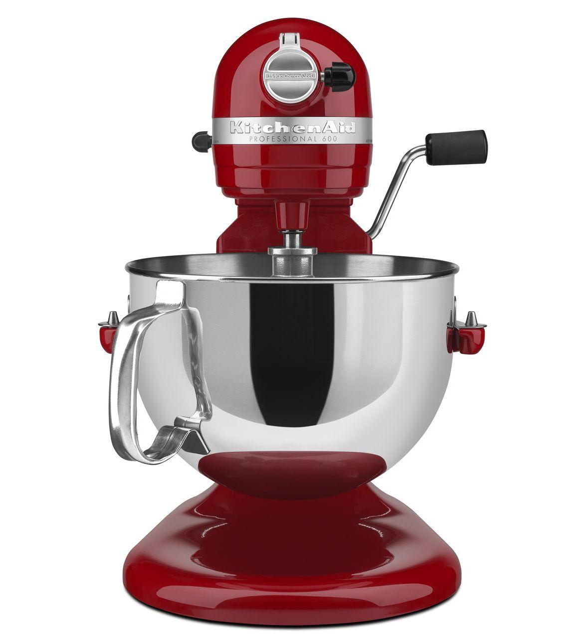 KitchenAid Empire Red 6 Qt. Bowl Lift Professional 600 Series ... on kitchenaid mixers on sale, kitchenaid mixer 500 series, kitchenaid mixer 600 white, kitchenaid professional series, kitchenaid mixer 6500 series, kitchenaid stand mixer pro series,