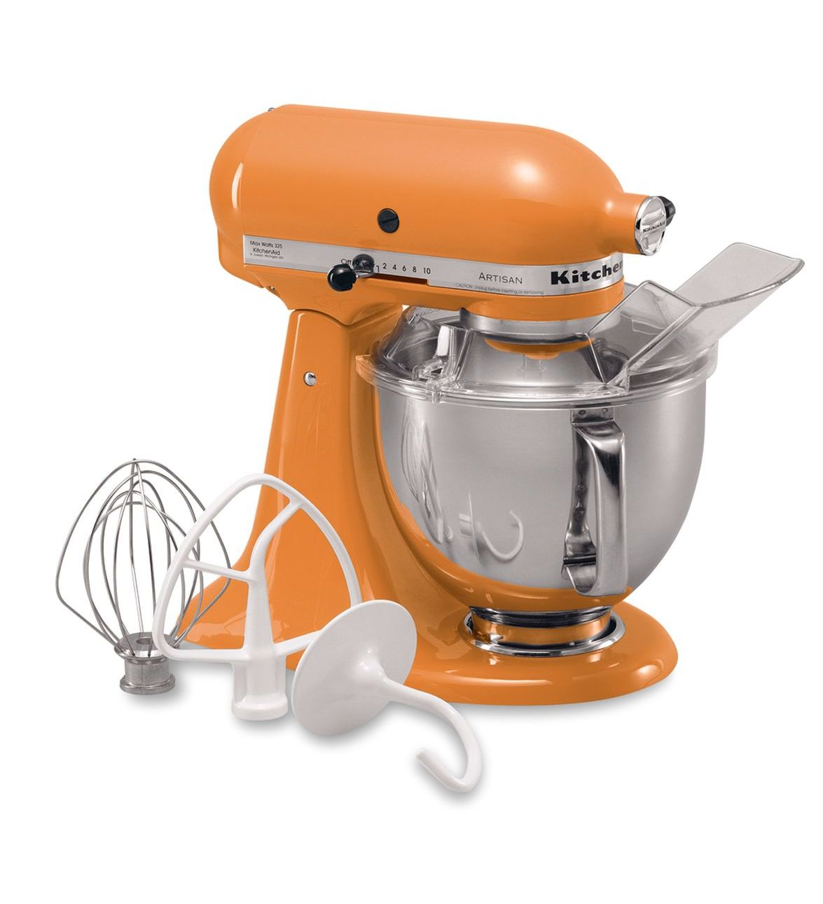 Kitchenaid Tangerine 5 Quart Artisan Series Stand Mixer
