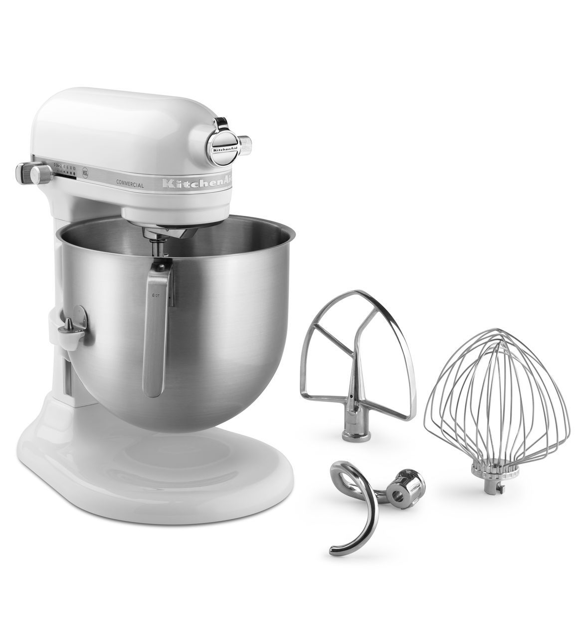 Kitchenaid White Nsf Commercial 8 Qt Bowl Lift Stand