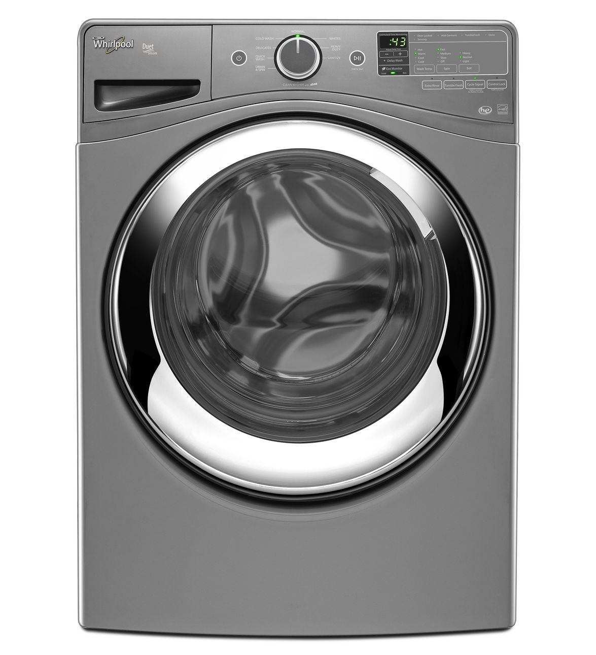 Whirlpool 4.3 cu. ft. Duet® Steam Front Load Washing