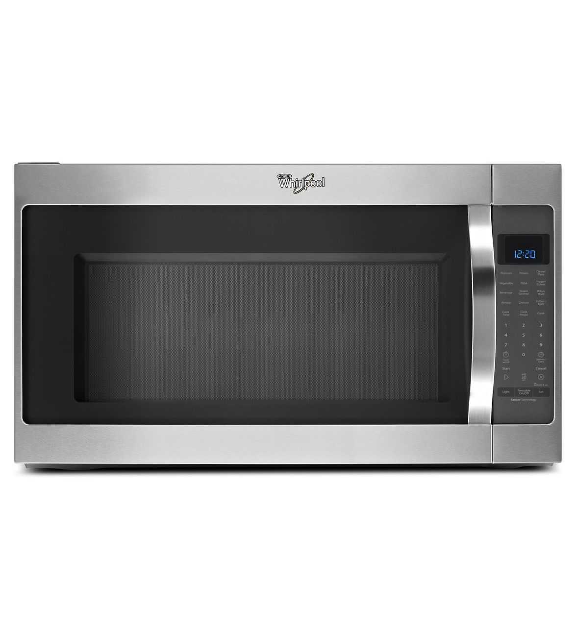 in view larger ft stainless microwaves cu countertop microwave ca whirlpool steel over range the