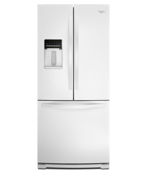 30 inch wide french door refrigerator with exterior water - How wide are exterior french doors ...