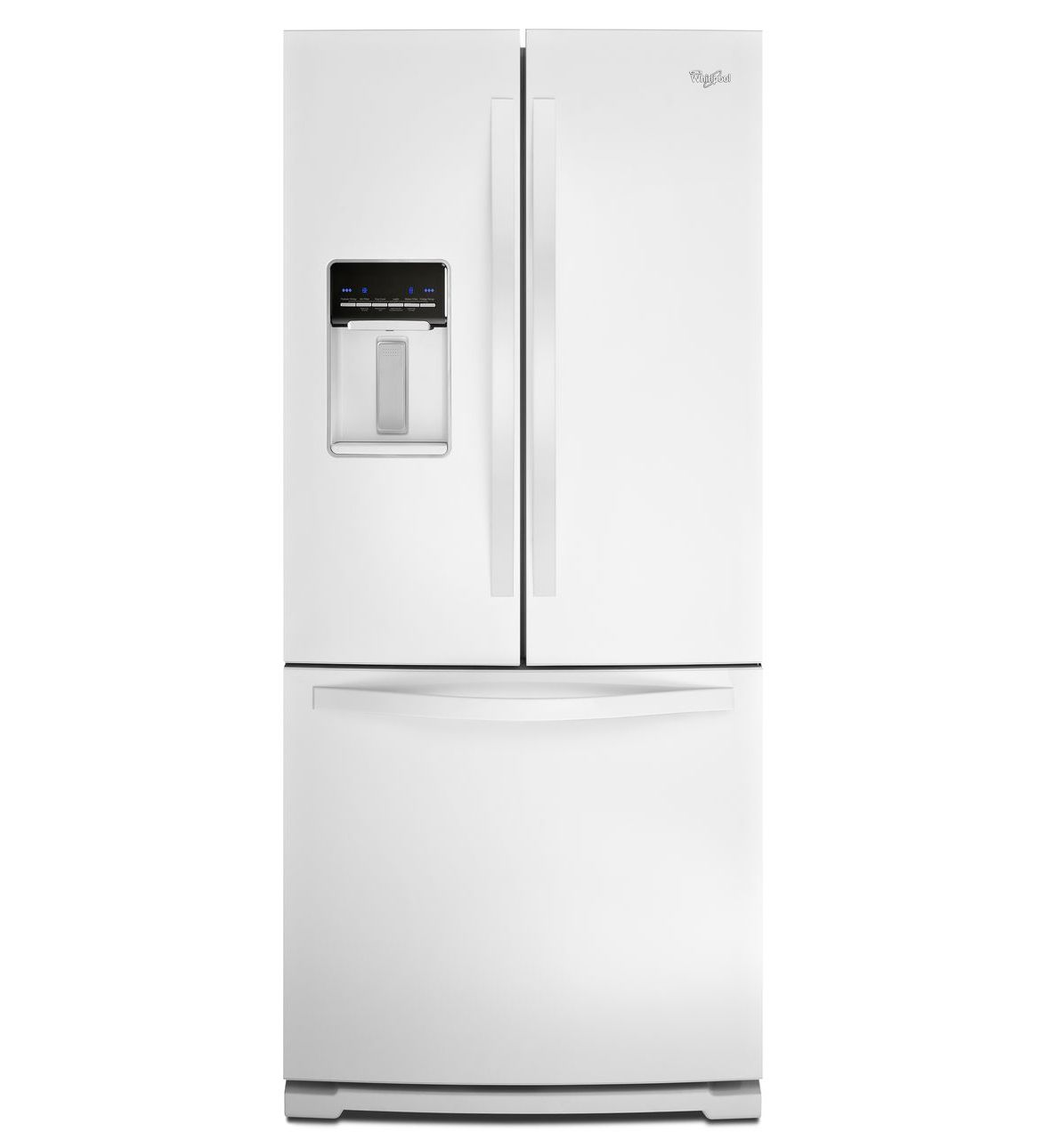 30 inch wide french door refrigerator with exterior water wrf560seym b rubansaba