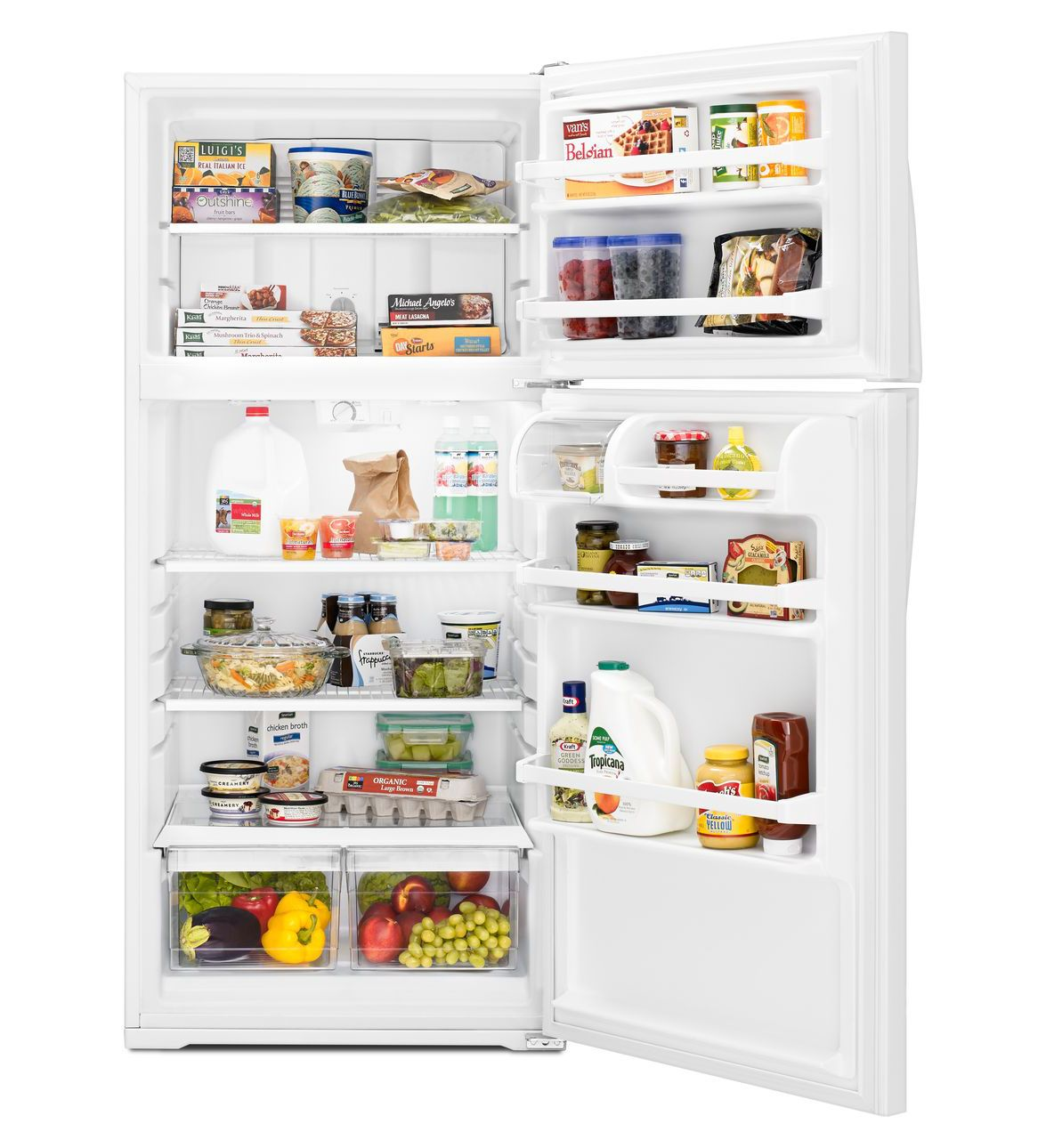 28 Inches Wide Top Freezer Refrigerator More Colors
