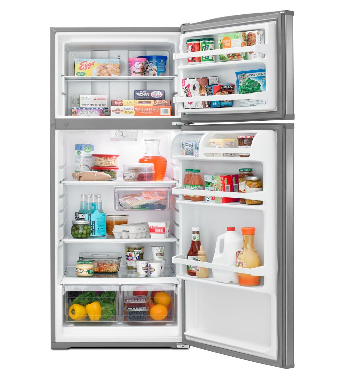 Whirlpool 28 Inch Wide Top Freezer Refrigerator Master
