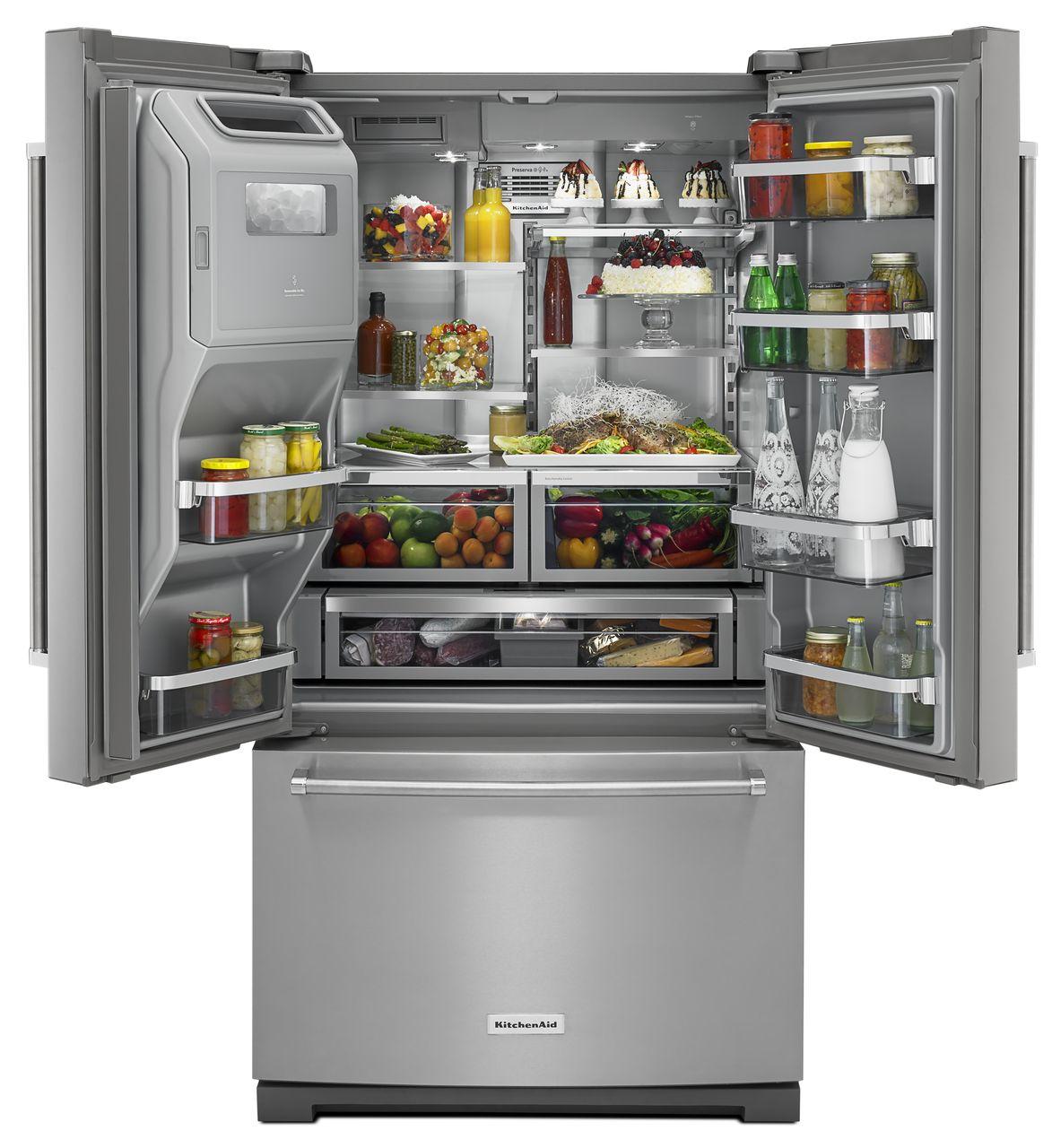 Kitchenaid 29 Cu Ft French Door Refrigerator Master