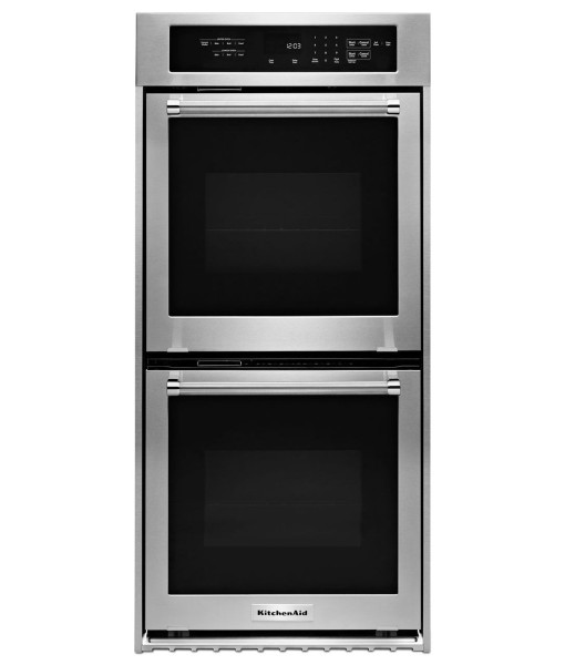Convert Countertop Microwave To Built In : KitchenAid 24-Inch Convection Double Wall Oven, Architect? Series II ...