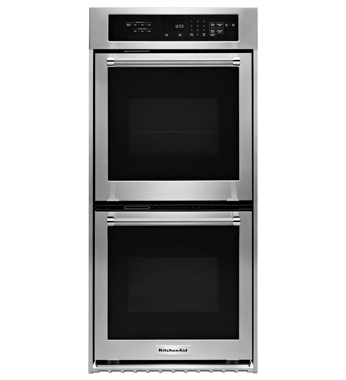 Kitchenaid 24 Inch Convection Double Wall Oven Architect Series Ii Handles Master