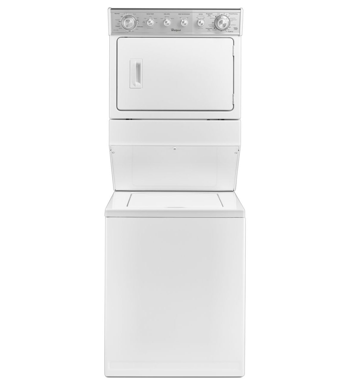Whirlpool Thin Twin Washer Dryer Combination White