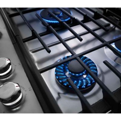 Kitchenaid 36 5 Burner Gas Cooktop With Griddle Master