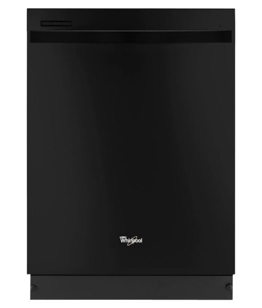 whirlpool gold series top control dishwasher in black master