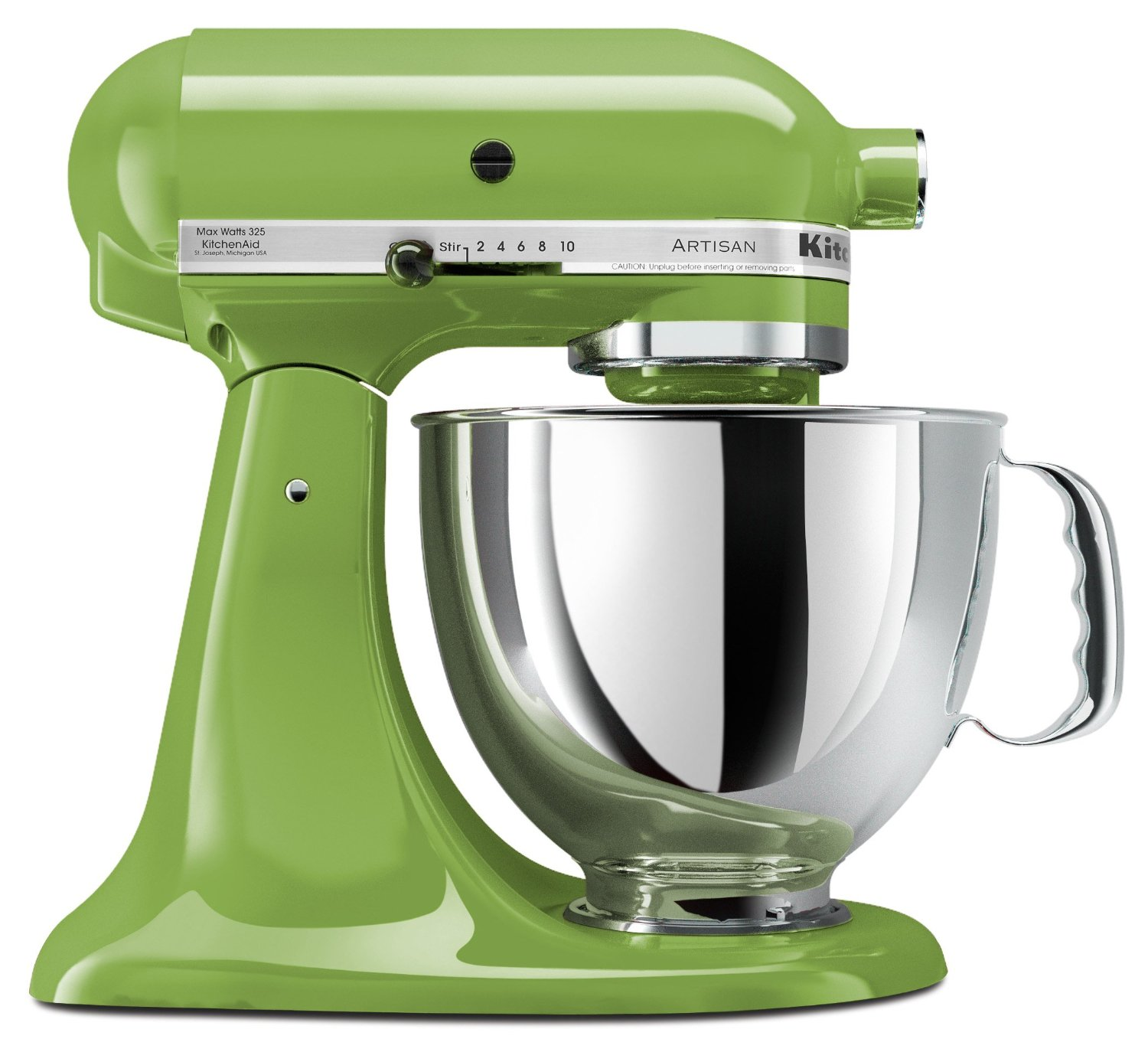 Kitchenaid Apple Green 5 Quart Artisan Series Stand Mixer