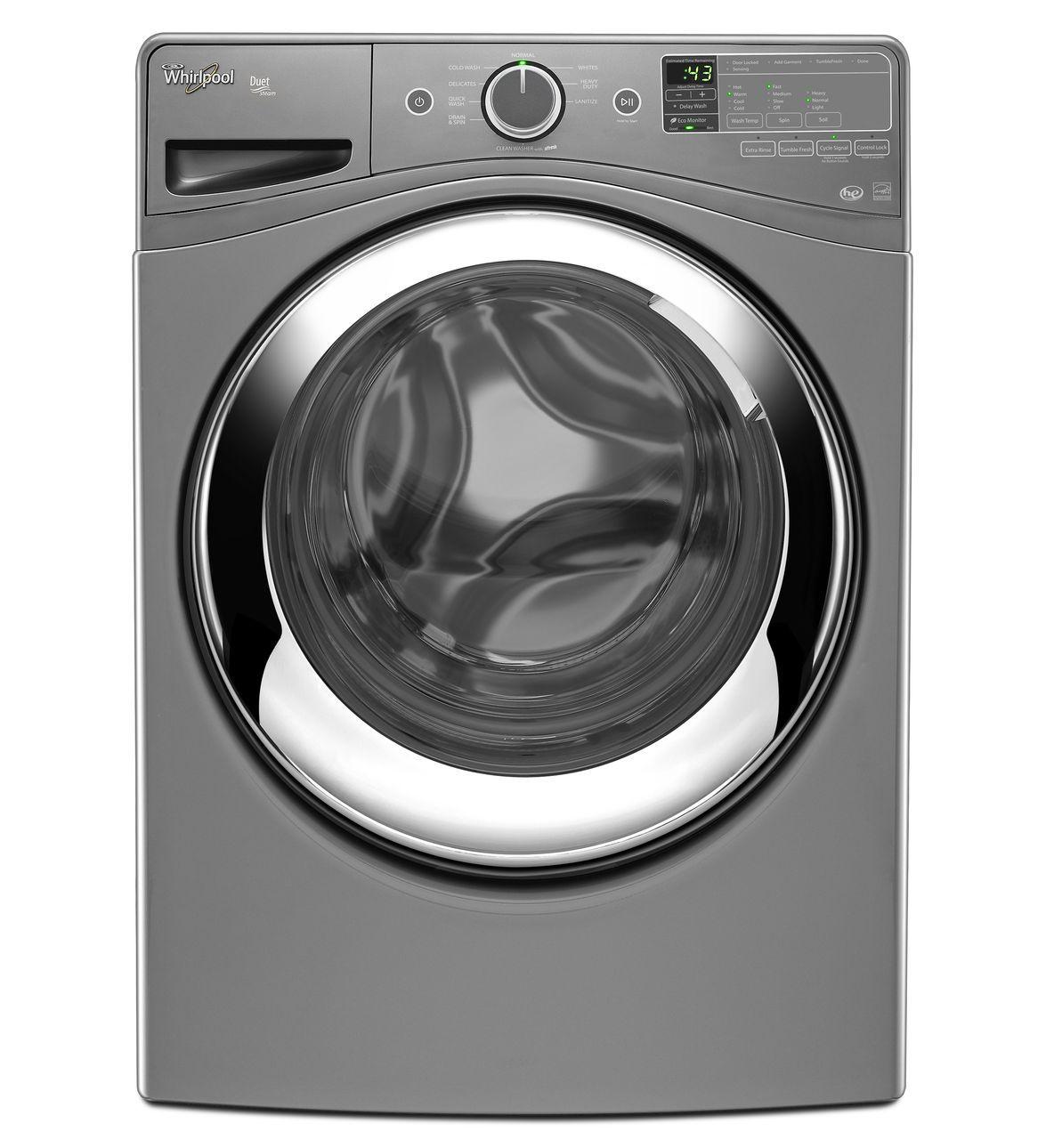 Duet Steam Front Load Washing Machine With Clean Option Master Technicians Ltd