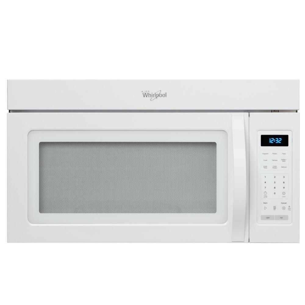 Whirlpool 1 7 Cu Ft Over The Range Microwave More