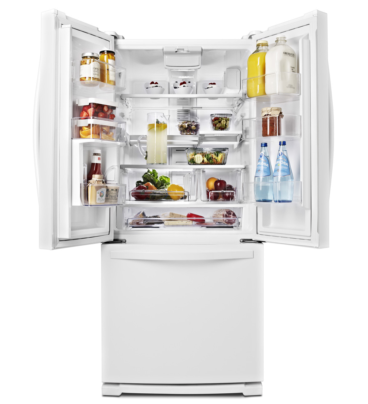 30 Inch Wide French Door Refrigerator With Exterior Water