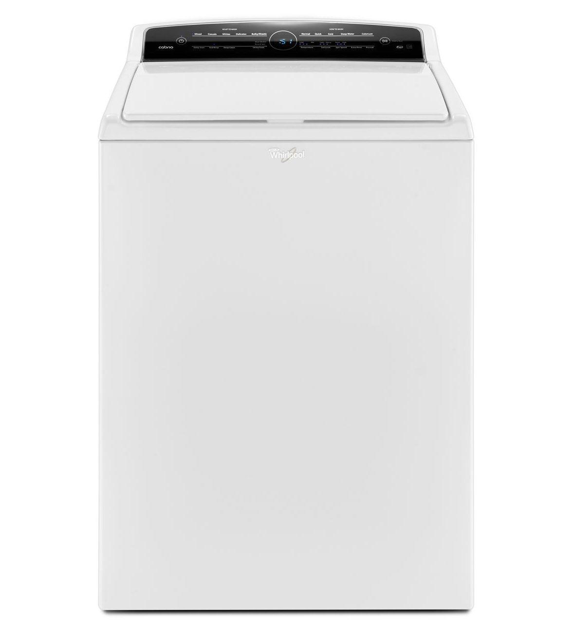 Whirlpool 4.8 Cu Ft H/E Cabrio Washer