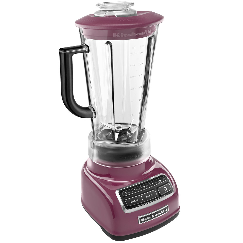 Kitchenaid 174 5 Speed Diamond Blender Boysenberry Master