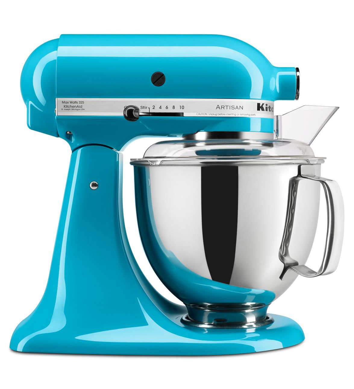 KitchenAid Crystal Blue 5-Quart Artisan Series Stand Mixer
