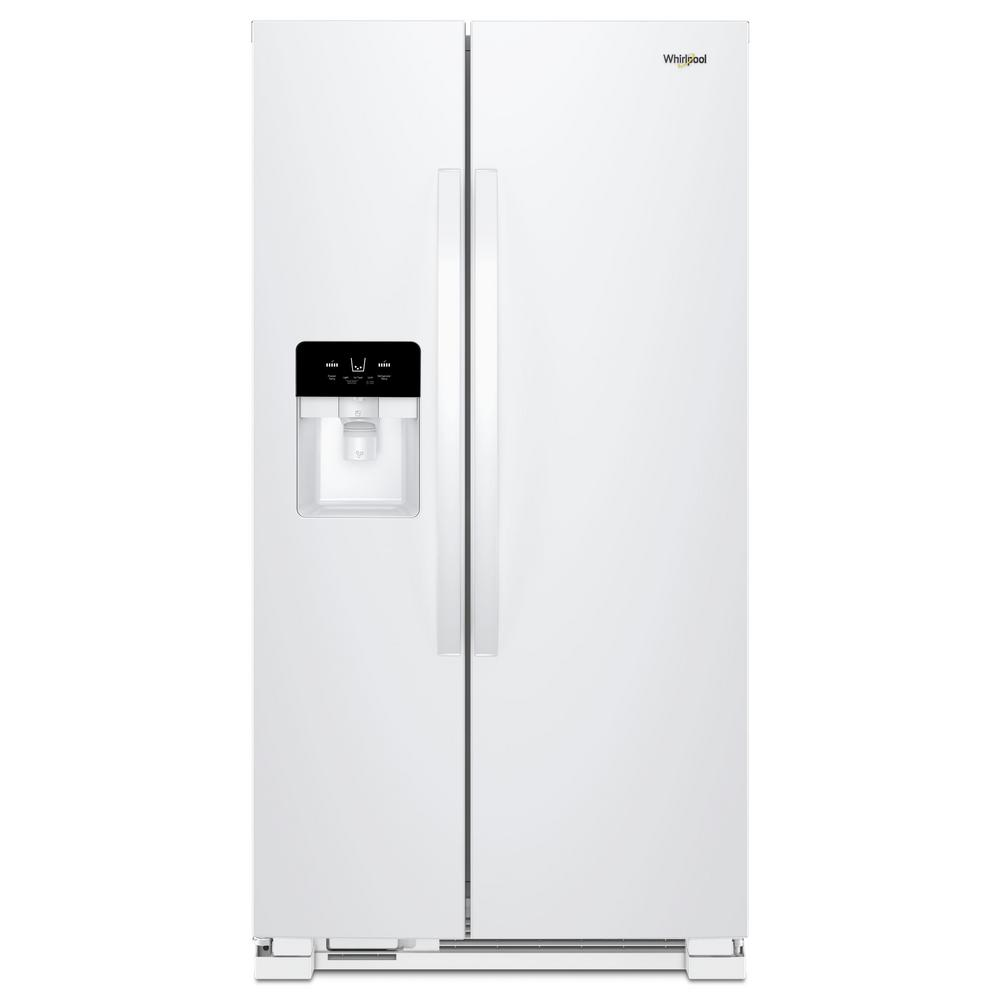 Whirlpool 25 Cu Ft Side By Side Refrigerator Energy